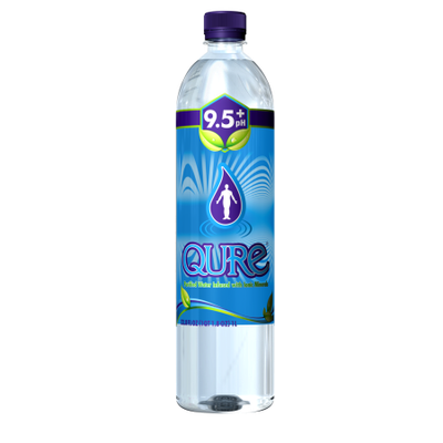 Qure Water ALKALINE WATER, (Pack of 12)