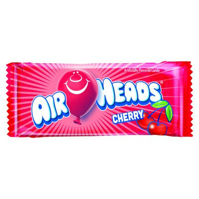 Perfetti Van Melle Mini Airheads 8 Pound Bulk Case (about 324 Mini Bars) - Cherry