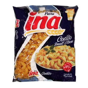 Ina Elbow Noodle 7.05 oz - Codito (Pack of 42)