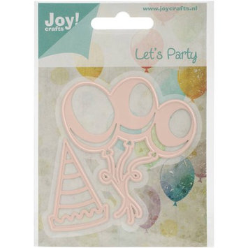 Ecstasy Crafts Joy! Crafts Cut & Emboss Die, Balloons and Hat, 1.25