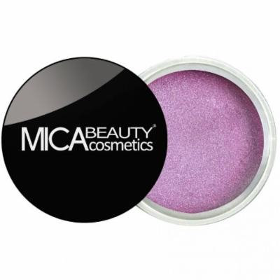 (Bundle of 3 Items)MicaBeauty Full Size Foundation MF1 Porcelain+Lip Color Pot+ Airplane Travel Cosmetic Bag (02 Lilac Sugar)