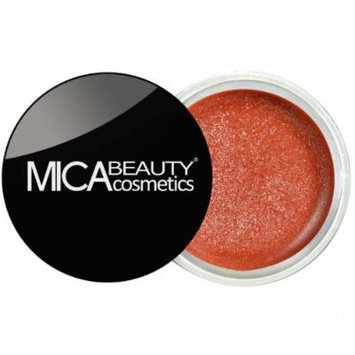 (Bundle of 3 Items)MicaBeauty Full Size Foundation MF6 Cream Caramel+Lip Color Pot+ Airplane Travel Cosmetic Bag (03 Rich Bronze)