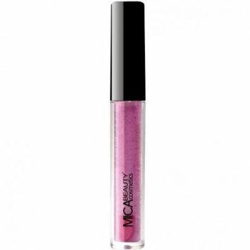(Bundle of 3 Items)MicaBeauty Full Size Foundation MF6 Cream Caramel+Lip Plumper+ Airplane Travel Cosmetic Bag (Light Pink)