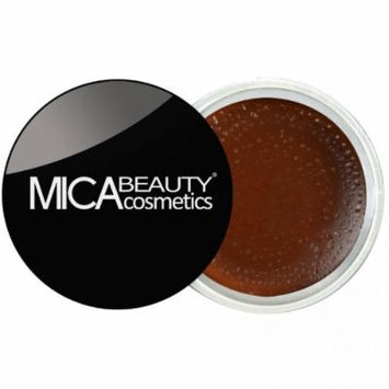 (Bundle of 3 Items)MicaBeauty Full Size Foundation MF6 Cream Caramel+Lip Color Pot+ Airplane Travel Cosmetic Bag (05 Rich Chocolate)