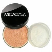 (Bundle of 3 Items)MicaBeauty Full Size Foundation MF4 Honey+Face & Body Bronzer+Airplane Travel Cosmetic Bag (FB4 Light Kisses)