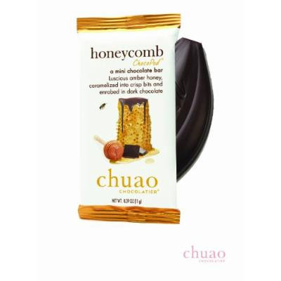 Chuao Chocolatier Honeycomb Chocopods - Mini Chocolate Bars (24-pack)