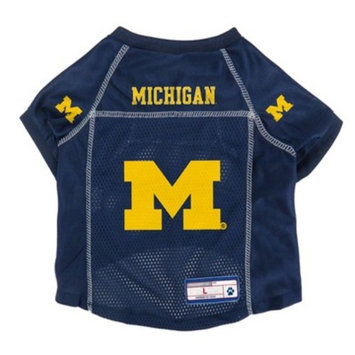 NCAA Little Earth Pet Football Jersey - Michigan Wolverines