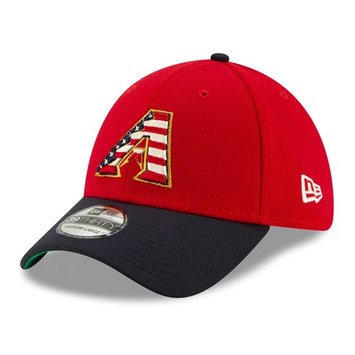 Era Stretch Fit 39THIRTY Arizona Diamond Backs 4th of July Cap