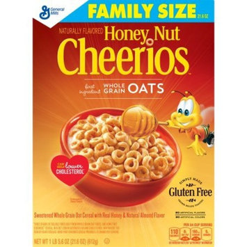 Honey Nut Cheerios Gluten Free Cereal Family Size, 21.6 oz, 4 Count