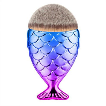 Fish Scale Makeup Brush Fishtail Bottom Brush Powder Blush Makeup Cosmetic Brush