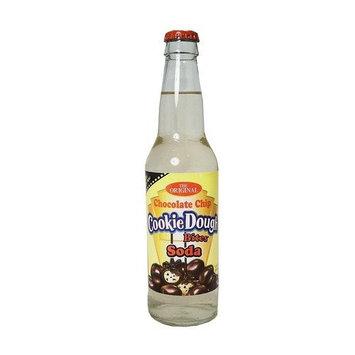 Rocket Fizz Cookie Dough Bites Chocolate Chip Soda 1-12oz bottle