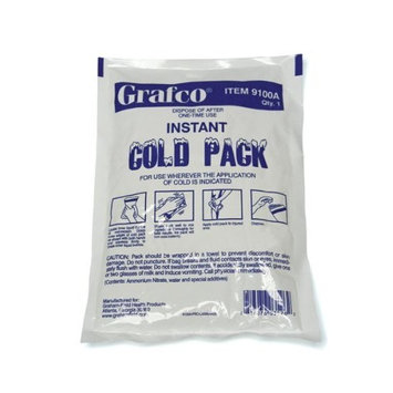 GF Health 10407 Disposable Instant Cold Packs, 5