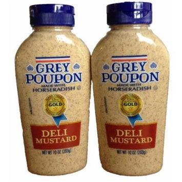 Grey Poupon Deli Mustard - 2 Pack