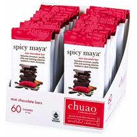 Chocolate Bars-Chuao Chocolatier Spicy Maya Mini Chocolate Bars 24pk (.39 oz mini bars)-Best-Selling Chocolate Pack-Gourmet Artisan Dark Chocolate-Cinnamon Chocolate-Free of Artificial Flavors