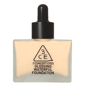 3 Concept Eyes - Glossing Waterful Foundation SPF15, PA+ NATURAL IVORY