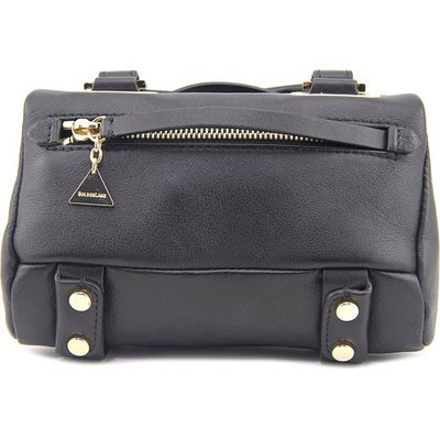 Golden Lane Mini Soave Duo Satchel Leather Messenger