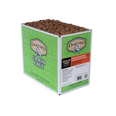 Darford Minis Grain-Free Salmon and Mixed Vegetables Dog Treat, 15 Lb