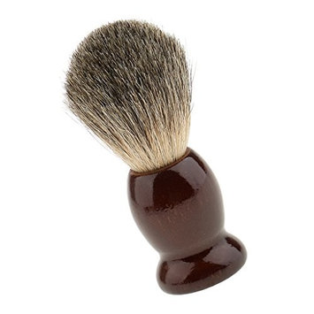 Dovewill Natural Wood Salon Facial Neck Dust Cleansing Bristles Shaving Brush Removal
