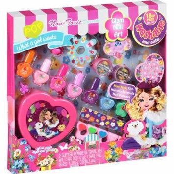 POP Glam Nail Art Set, 18 Pc