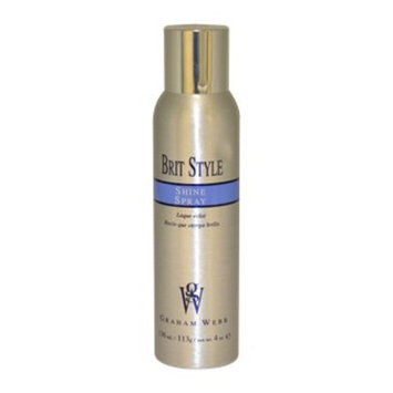 Brit Style Shine Spray Unisex by Graham Webb, 4 Ounce