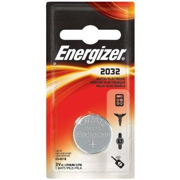 Energizer ECR2032 Lithium 3-Volt Coin Cell Battery