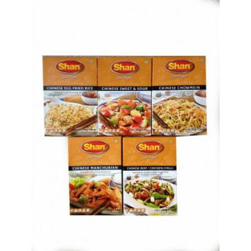 Shan Chinese Seasoning Mix Variety - 5 Pack (5X35g)