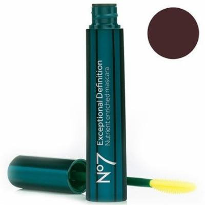 No7 Exceptional Definition Mascara Brown/Black