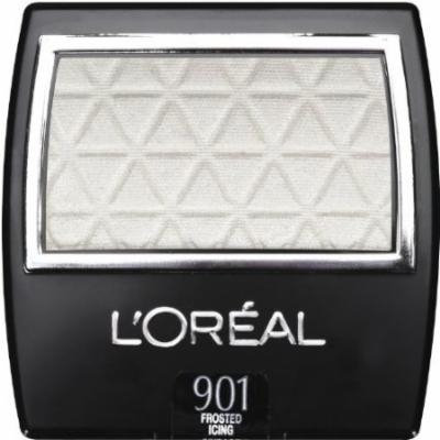 (Pack 2) L'Oreal Paris Studio Secrets Professional Eye Shadow Singles, 901, Frosted Icing 0.10 Ounce