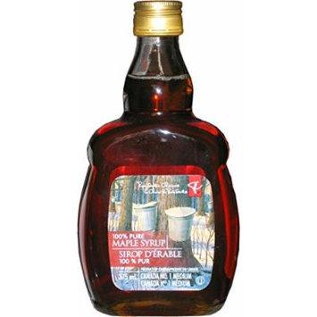 Presidents Choice Canada No. 1 Medium Maple Syrup - 375ml
