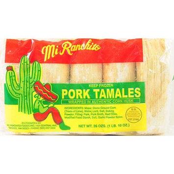 Mi Ranchito Foods Inc Mi Ranchito Red Chile Tamales 26 Oz
