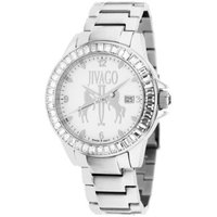 Jivago Women's Folie Watch Swiss Parts Quartz Mineral Crystal JV4217