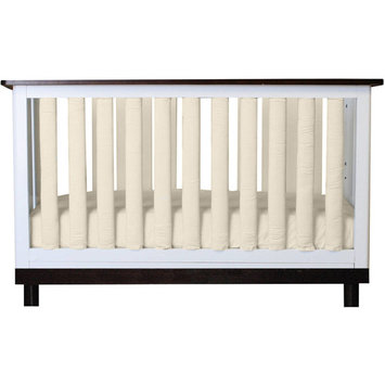 Doctor-approved, Safe Vertical Wonder Bumpers in Certified Organic Ivory Cotton, Choose Your Pack