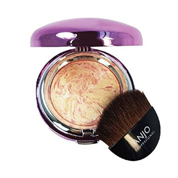 Anjo Professional Marble Blusher Shining Color Blusher 4 Color