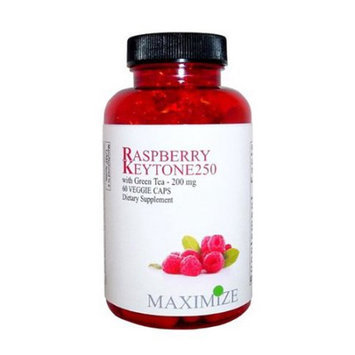 Maximum International Raspberry Keytone Green Tea - 60 Vcap