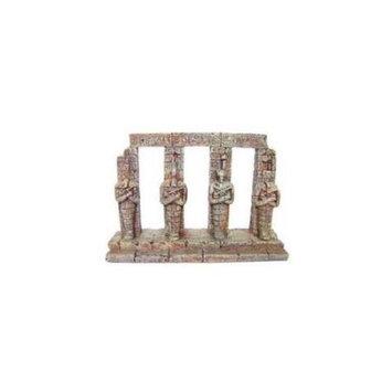 Topdawg Pet Supplies Aquatic Creations Sporn AZNZQU05177 Resin Ornament - 4 Sarcophagi Columns