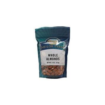 Shiloh Farms Organic Almonds Whole Raw -- 11 oz