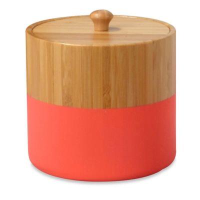 DKNY Color Block Bamboo Jar