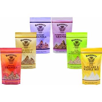 Bunnery Natural Foods Breakfast Variety Sampler, 5.25-Pound