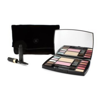 Chanel Travel Makeup Palette Altitude - Essentials with 4 Brushes, Blush Mascara