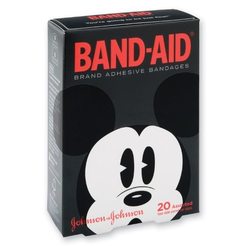 Band-aid Mickey Mouse Bandages - 20 Per Pack