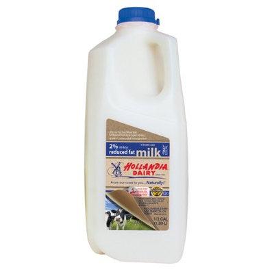 Hollandia Dairy Inc. Hollandia Dairy, Milk, 2% 1/2 gallon