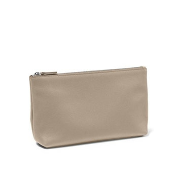 Medium Accessories Pouch - Full Grain Leather Leather - Ginger (gray)