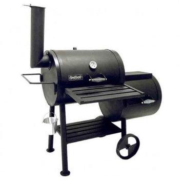 Bayou 24? Heavy Steel Smoker Grill with Firebox500-424