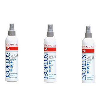 [VALUE PACK OF 3] ISOPLUS WRAP LOTION SPRAY 10 OZ : Beauty