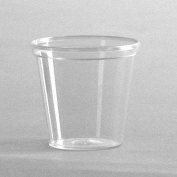 C-Comet Shot Plas Portion Cup 1Oz Cle 50/50