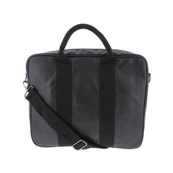 M151 Faux Leather Organizational Organizer Briefcase Black O/S