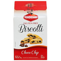 Haddar Biscotti, Chocolate Chip, 7 Oz
