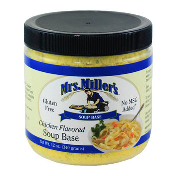Mrs. Miller's Chicken Flavored Soup Base 12 oz. (2 Jars)