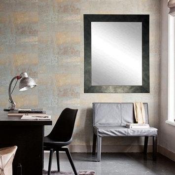 BrandtWorks Worn Gunmetal Wall Mirror