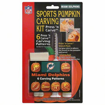 Miami Dolphins Pumpkin Carving Kit Topperscot